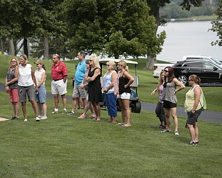 .          ROBERT  K. YOSAY | THE VINDICATOR..Watching the ladies finish... GGOV at The Lake Club in Poland -...-30-
