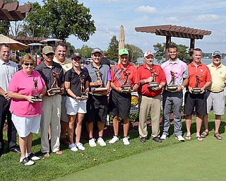 Winners of the 2014 Greatest Golfer of the Valley Tournament at The Lake Club.