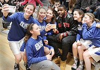 Cardale Jones Visits Valley