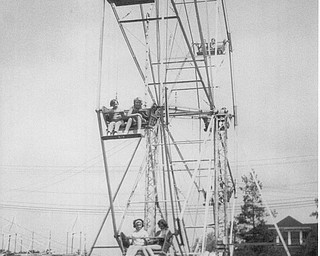 Idora Park Ferris wheel.