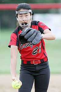 Canfield vs Fitch Softball