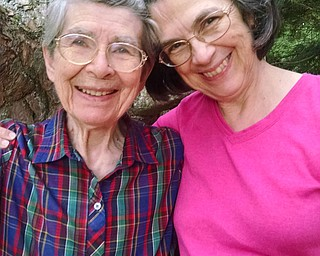 Betty Allen, 91, of Cheshire, Conn., and her daughter, Marty Dickinson of Girard, got together last summer at Tupper Lake, N.Y., at a property Betty's grandfather purchased in 1904.