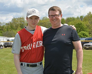 Jacob and his dad, Jonathan McQueen of Struthers.