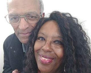 75 year-old Leonard H. Scott of Warre with his oldest daughter, Taunya Lynne Scott, of Youngstown.