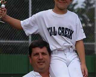 Bob Brooks with his son, Danny.