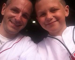Nicholas Moliterno Jr. and and dad, Nicholas.