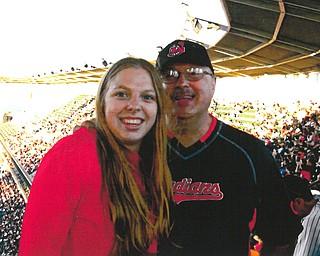 Rachel and her dad, Tony Monti of Champion.
