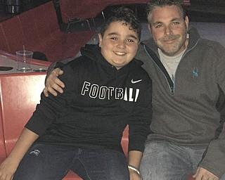 Logan and Logan Tsarnas of Canfield.