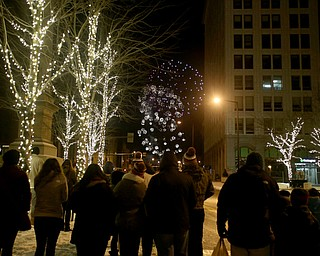 during First Night Youngstown, Sunday, Dec. 31, 2017, at LOCATION in Youngstown. ..(Nikos Frazier | The Vindicator)