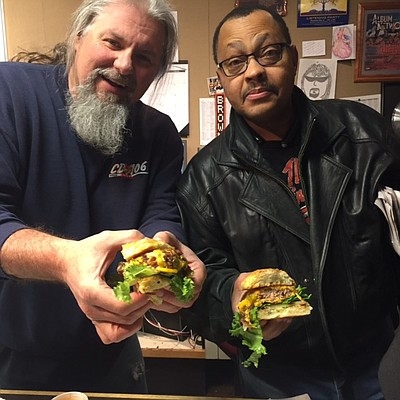 Radio personalities Fast Freddie and Morris Ray are among those that judged in the 2017 Meat 16.