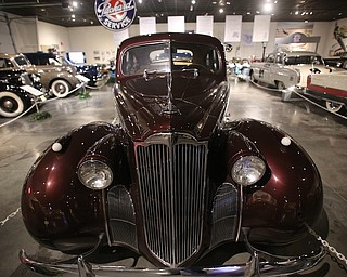 1940 One-Ten Touring Sedan Model 1800, Wednesday, Jan. 24, 2018, at the Packard Museum in Warren...(Nikos Frazier | The Vindicator)