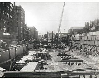 Erie Terminal construction 1921