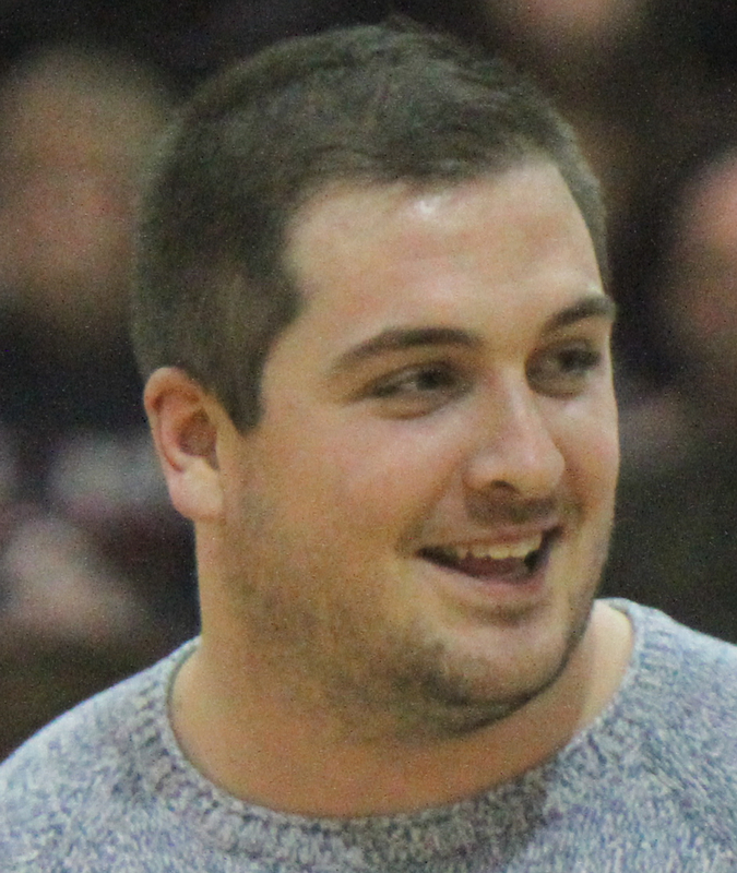 Corey Linsley Visits Boardman - Fitch Game