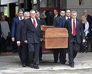 Billy Graham motorcade procession