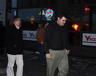 TV 27 Newscaster, Mr. Vinkler and Associate
