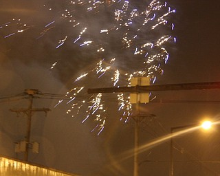 Fireworks Celebrate the Home Town Hero