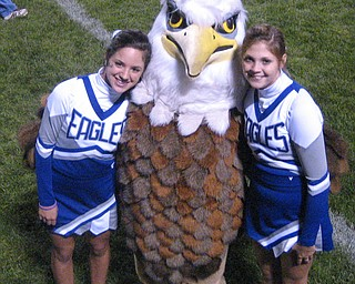 Sarah & Taylor with the Eagle