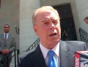 Ohio Governor Ted Strickland responds to questions from reporters