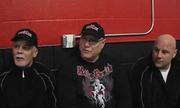 Members of Team Pavlik (Mike Romeo, Michael Cox, John D'Altorio, Mike Pavlik Sr., Tank DiCiccio, John Loew and John Hutter) talk about Pavlik's upcoming fight at the Chevrolet Centre during his public workout at Southside Boxing.