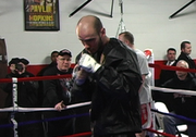 WBC/WBO middleweight champion Kelly Pavlik meets with press and the public at a workout at Southside Boxing Center Wednesday. Pavlik and trainer Jack Loew talk about Saturday's fight at the Chevrolet Centre.
