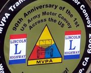 90 plus military style vehicles are retracing the origional trip by Dwight D Eisenhower