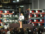 President Barack Obama's complete speech at GM Lordstown, Tuesday, Sept. 15, 2009