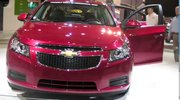 The Chevrolet Cruze creates quite a buzz at the Cleveland Auto show.