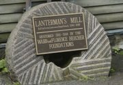 Lanterman's Mill operates now as it did more than a century ago, thanks to a $600,000 restoration grant given to the Mill Creek MetroParks 25 years ago.With its hand-crafted structure and rushing waterfall, the mill, built in 1845, is a gem that many say is worth going back to again and again.