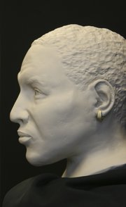 In a cold-case investigation worthy of television, Trumbull officials unveiled an FBI reconstruction of the head of the man whose skeleton was found along the southern edge of Mosquito Lake July 23, 2006.
