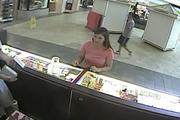 Poland village police are asking for the public's help to identify a woman who racked up more than $250 of fraudulent charges in two hours last week. A 25-year-old woman told police her debit card was taken at Gas and Food Mart on North Main Street, near Walgreens, around 8:45 a.m. June 1. Police said security video footage from several Boardman stores shows a woman using the stolen card. Here she charged $106.75 at the Perfume Collection. She is described as being about 5-foot-4-inches, 130 pounds with long brown hair and a tattoo on her right ankle. She was driving a silver four-door Chevrolet Impala with a sunroof. Anyone with information about the case should call 330-757-2717.