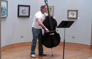 A Youngstown musician finds a connection between art and music while performing at a local gallery.