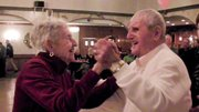 A Valley couple who have been married 72 years enjoy dancing.