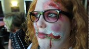 A Zombie Prom for teens was held at the Poland Library.