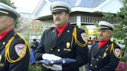 The 2012 Mahoning Valley 9-11 Memorial was held in in Austintown. Hundreds attended the event