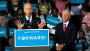 Vice President Joe Biden and President Bill Clinton were in Youngstown today.