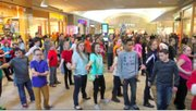 Austintown Middle School students performed at the Southern Park Mall.