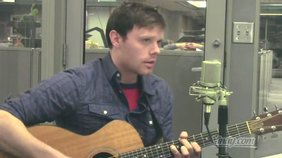 """Russell Howard plays his song, """"Won't Get to Sleep""""."""