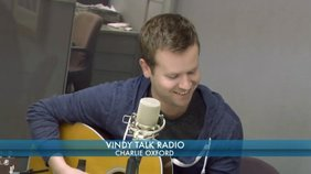 """Charlie Oxford plays his song, """"Drive Me Crazy""""."""