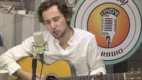 "Nate Jones plays his song, ""Music of the Mardi Gras""."