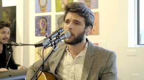 """JD Eicher performs at the Soap Gallery for """"The Middle Distance"""" album release party."""