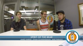 Members of the band, Spirit of the Bear, James Harker, Ethan Schwendeman, and Mike Parazio join Louie b. Free to talk about their music.