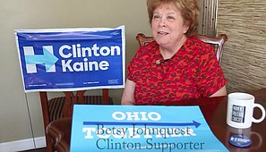 Video: Local Clinton supporter