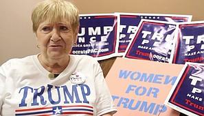 Video: Local Trump supporter