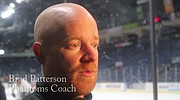 Phantoms coach Brad Patterson talks about upcoming playoffs.