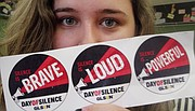 Boardman High School's Gay-Straight Alliance will observe the National Day of Silence to bring awareness affecting the LGBTQ community.