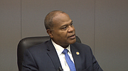State representative Glenn Holmes of McDonald discusses his political background.