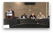 Youngstown schools CEO Krish Mohip begins his CEO Update Meeting by addressing comments made public that he made during a private principals' meeting Monday.