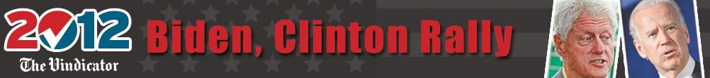Biden-Clinton Banner