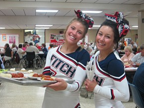 Fitch honors area senior citizens at dinner