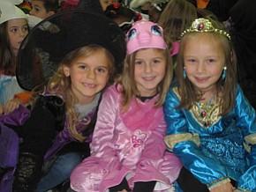Elementary schools celebrate Halloween
